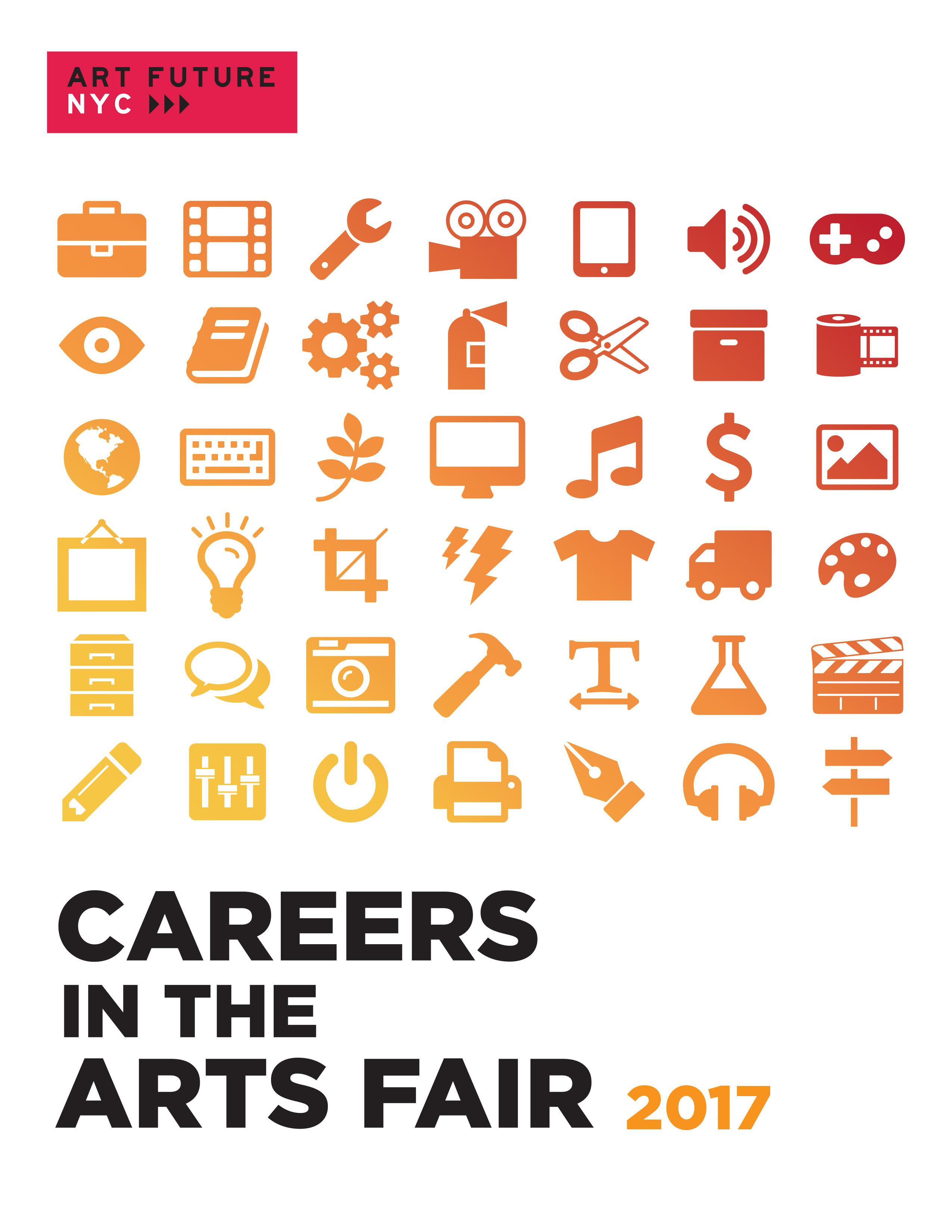 Career in the Arts Fair 2017!