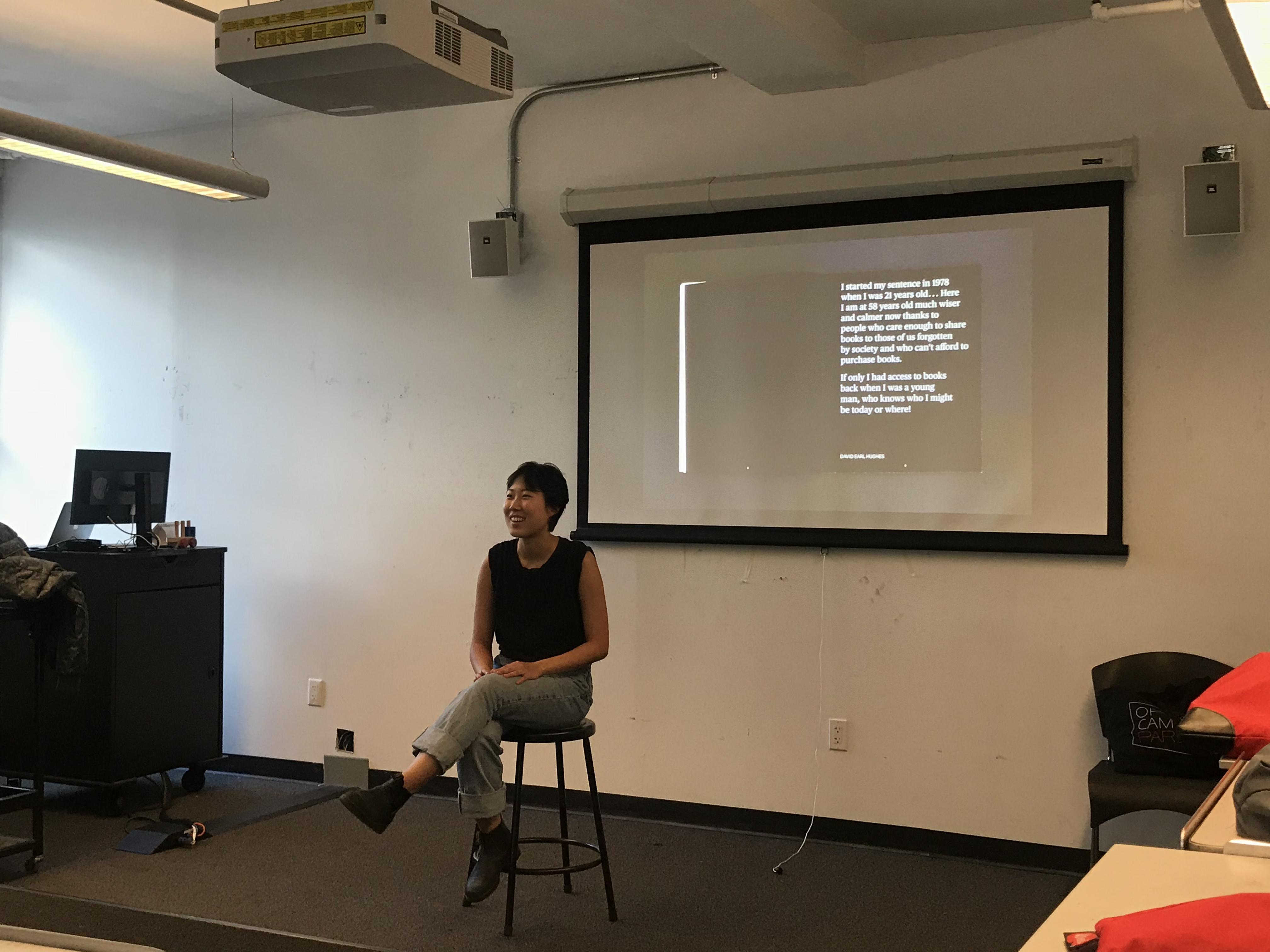 Bo-Won Keum, A RISD alumni and Portfolio Development professor at Rutgers