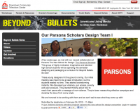 Senior Scholars Featured on the Beyond Bullets Webpage