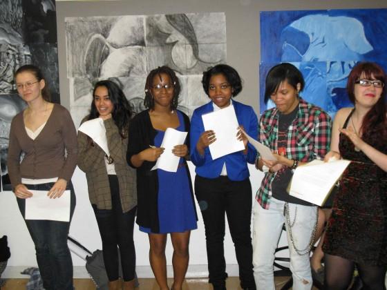 Open Studio and Parsons Paris Scholarship Recipients